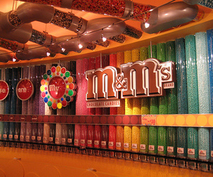 m&m's, candy, and m&m image