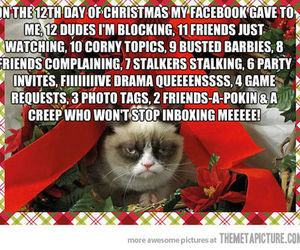 christmas, facebook, and funny image