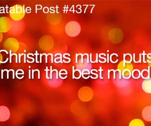 christmas, music, and mood image