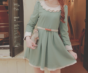 dress and ulzzang image