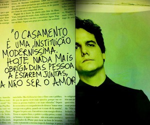 marriage, wagner moura, and frases image