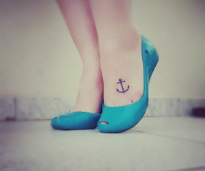 tattoo, anchor, and beautiful image