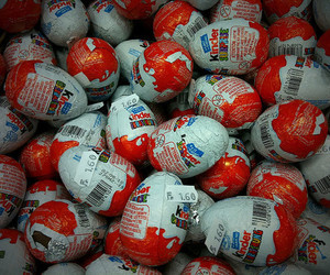 chocolate, tasty, and kinder surprise image