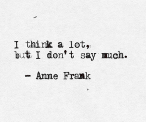 anne frank, quote, and stuff image