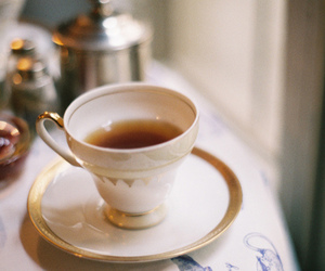 tea and teacup image