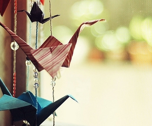 origami, Paper, and photography image