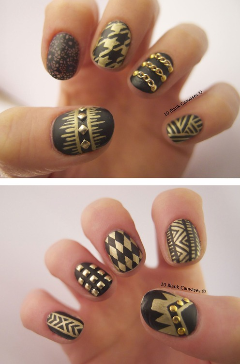 Nail Art uploaded by Giulia on We Heart It