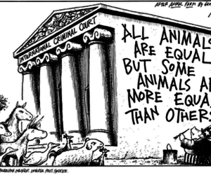 animal farm, orwell, and pigs image