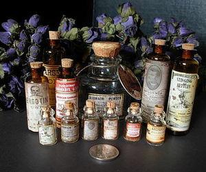 beauty, bottle, and magic image
