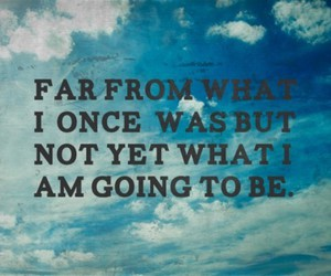 quote, life, and sky image