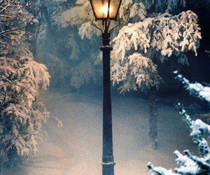 narnia, snow, and winter image