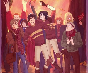 james potter, harry potter, and sirius black image