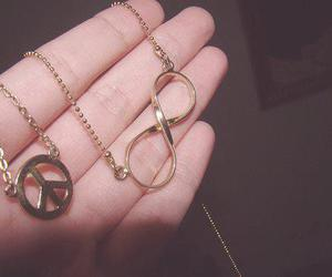 peace, infinity, and accessories image