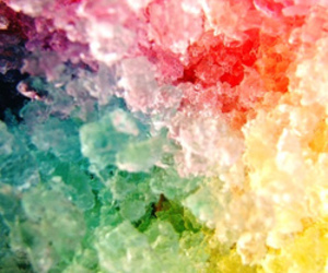 ice, color, and colors image