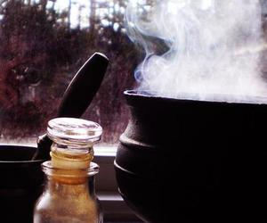 witch, witchcraft, and cauldron image