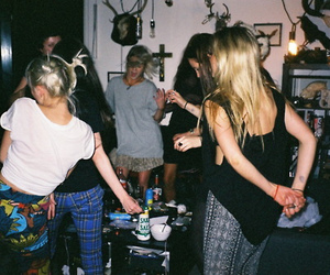 party, girl, and grunge image