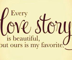 love, story, and quote image