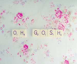 flowers, gosh, and oh gosh image