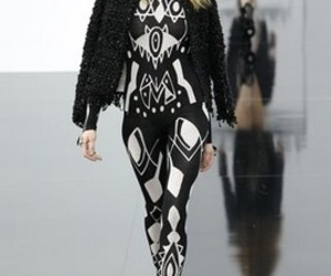 black and white, fashion, and chanel image