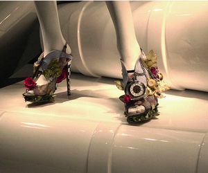 alice in wonderland and shoes image