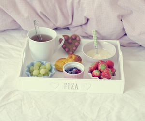 breakfast, fika, and sweden image
