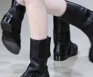 boots, Jil Sander, and shoes image