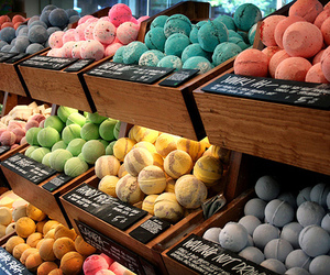 lush, bath, and bath bombs image