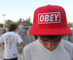 obey, boy, and photography image