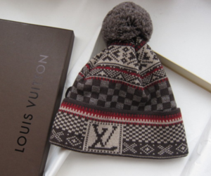 Louis Vuitton, LV, and winter image