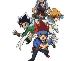 anime, ginga, and beyblade image
