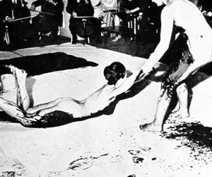 performance and Yves Klein image
