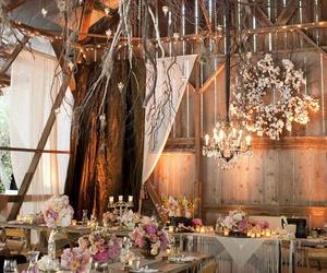 wedding and barn image