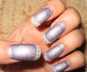liliac matte nails image
