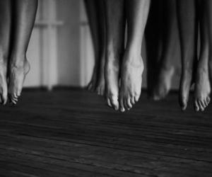 feet, ballet, and dance image