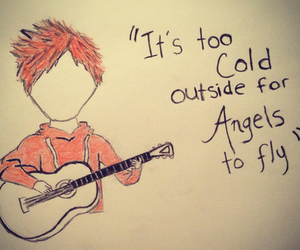 ed sheeran, angel, and the a team image