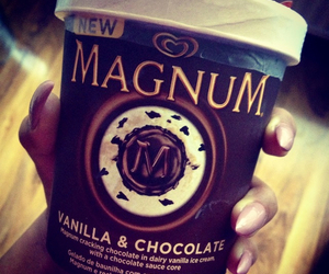 Magnum, chocolate, and ice cream image