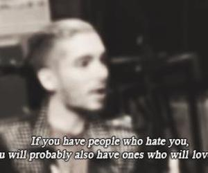 bill kaulitz, hate, and hate you image