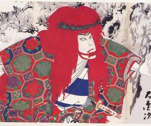 japan, ukiyoe, and kabuki image