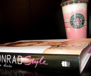 starbucks, lauren conrad, and book image