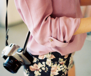 floral, cute, and outfit image