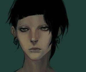 art, gothic, and lisbeth salander image