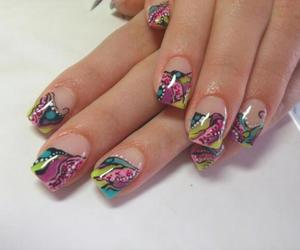 art, colorful, and nails image