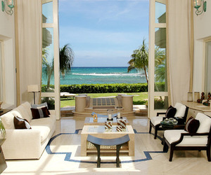 house, luxury, and beach image