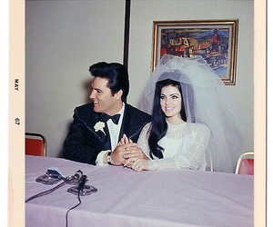 elvis, Elvis Presley, and wedding image
