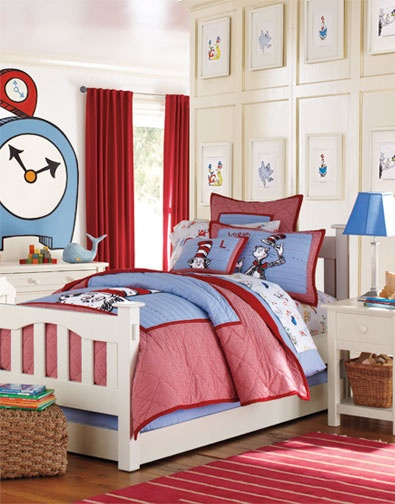 . Kids Dr  Seuss Room   PBK   Dr  Seuss Bedding   Room Decor