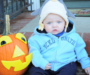 baby, Halloween, and cute image