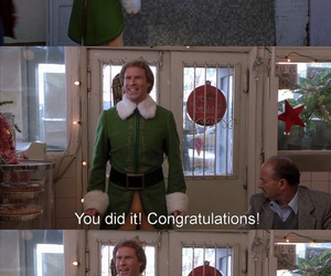 christmas, elf, and weheartit image