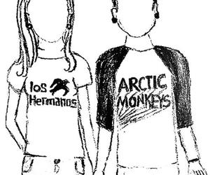 los hermanos, arctic monkeys, and couple image
