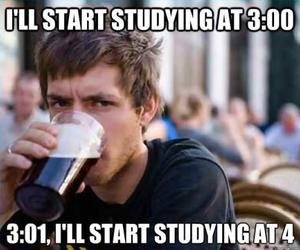 funny, lol, and exam image