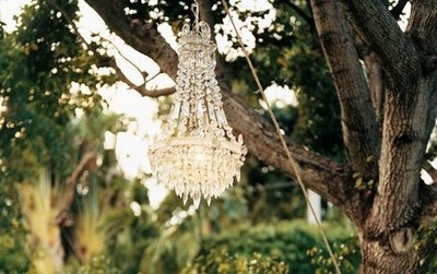chandelier and tree image
